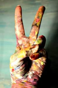 Peace and rainbows to my beautiful friend, Jenica Fredrickson.