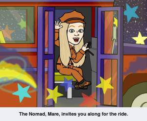 Come along and be a nomad with me.