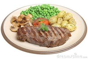 If you're a vegetarian or vegan, that steak is metaphorical.