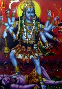 The Goddess Kali-ma