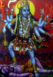 The Goddess Kali-ma