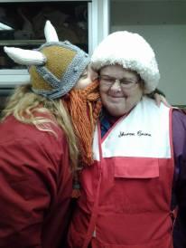 Miss Sharon Crane and me