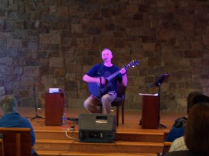 "Peter Mayer from Minnesota playing ""Blue Boat Home"""