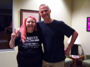 Me and Peter Mayer after the show.