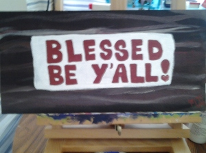 """Tuatha Dea inspired, """"Blessed Be, Y'all"""""""