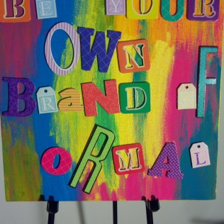 Be Your Own Brand of Ormal, Multi-media