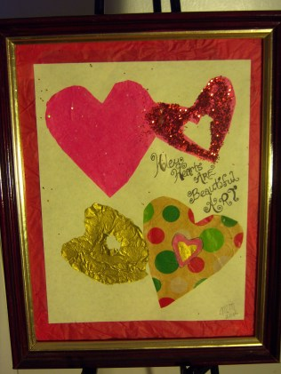 Holey Hearts are Beautiful Art, Multi-media