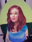 Emily, acrylic, canvas