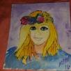 Magda, watercolor, paper SOLD