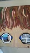 I SEA, acrylic, canvas