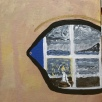 I SEA eye, acrylic, canvas