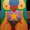 Divine Feminine, acrylic, canvas