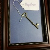 Key to Happiness, multi-media, framed