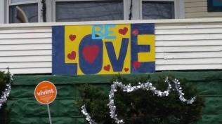 House Sign 3'x4', sealed acrylic, board