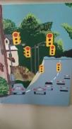 East up Fulton, acrylic, canvas